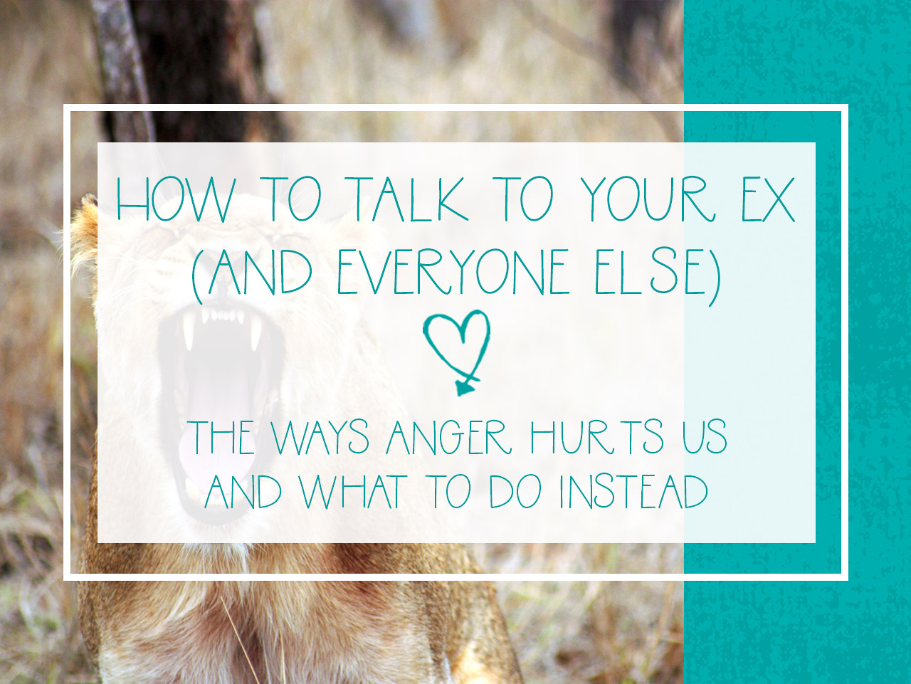 what to talk about with your ex